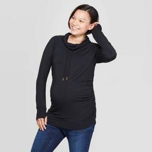 NWT Isabel Maternity Long Sleeve Cowl Neck
